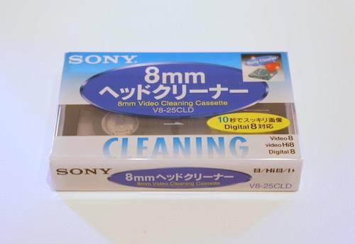 SONY 8mmビデオ用乾式ヘッドクリーナー