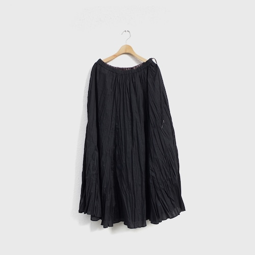 SIAWLY  Flare Gather Long Skirt 再入荷