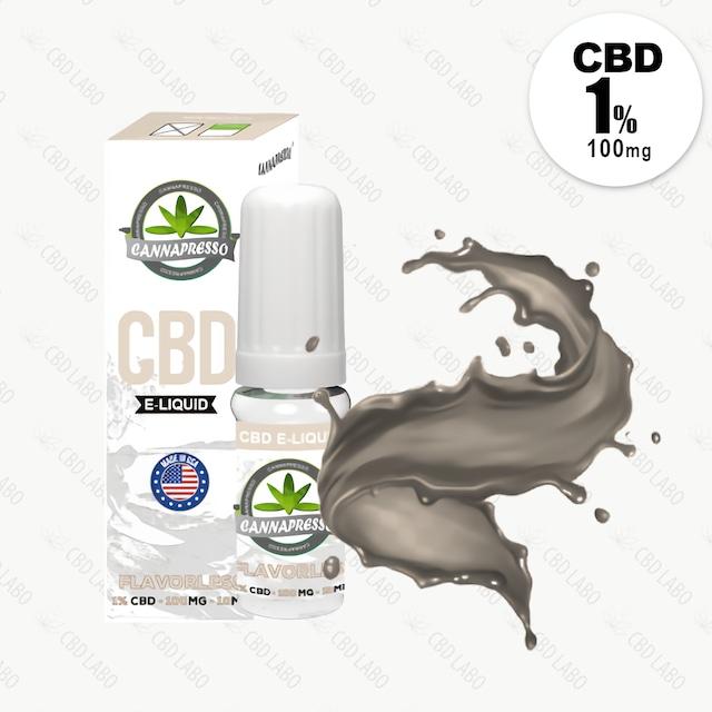 【送料無料】CANNAPRESSO CBDリキッド フレーバーレス 10ml CBD含有量100mg (1%)
