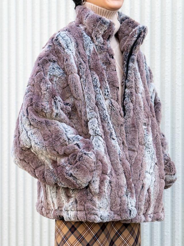 【UNISEX - 1 size】BIG FUR COAT / Beige