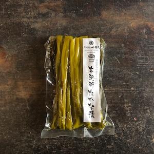 化学調味料無添加・保存料無添加で昔ながらの素朴な味わい。本発酵 たかな漬