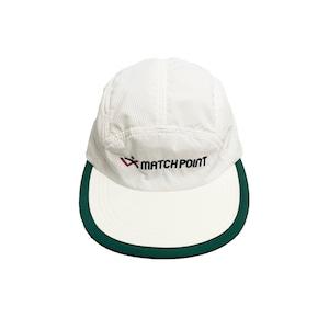 COMFORTABLE REASON / SQUASH CAP -WHITE