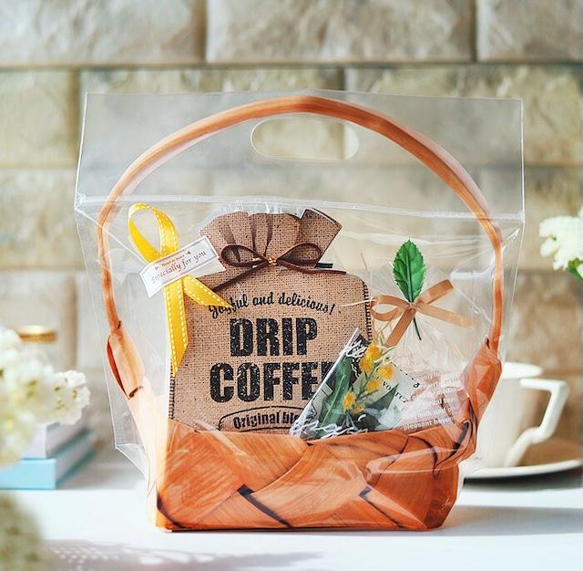 おしゃれ 深煎りコクうまブレンド ドリップコーヒー&黒砂糖のギフトセット 誕生日プレゼント