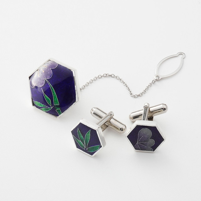<Solid silver>咲華メンズセット/shochiku   solid silver jewelry-shouchiku