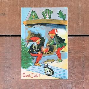 クリスマスカード「Anne Ch: Sjöberg(アンネ・シャルロッテ・フューベリィ)」《201101-08》