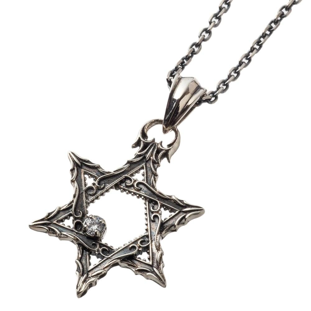 アンティークヘキサグラムペンダント ACP0344 Antique hexagram pendant