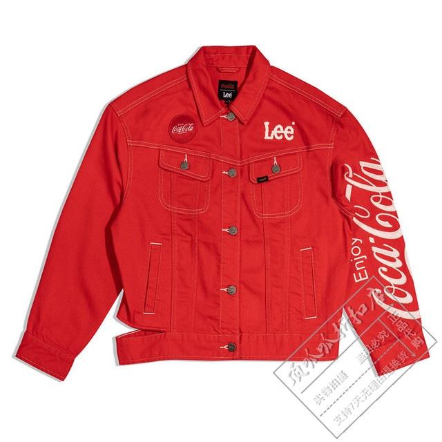 【Lee】Lee×Coca-ColaコラボGジャン