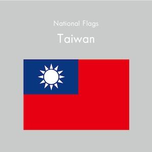 国旗ステッカー 台湾