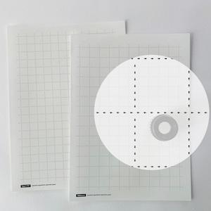 越前機械漉和紙便箋用・簀の目入・白・100枚(180mm×250mm)