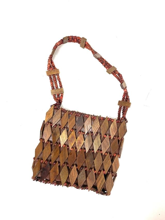 wood hand bag / 7SSGD27-18