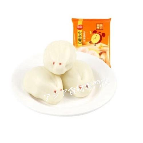 【冷凍便】思念玉兔奶黄包(うさぎ饅頭)