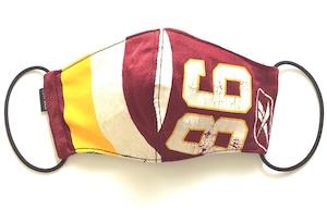 【デザイナーズマスク 吸水速乾COOLMAX使用 日本製】NFL SPORTS MIX MASK CTMR 1006027