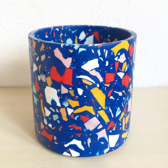 "EMILY MARLIN ""Royal Pot (Blue)"""