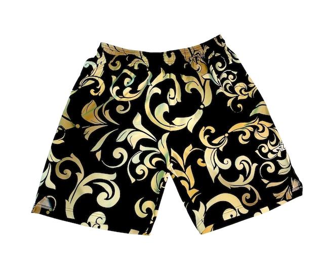 Zip Shorts / Arabesque