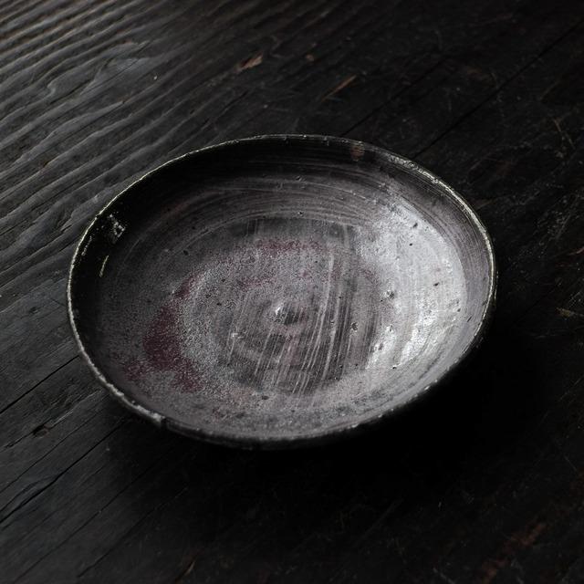 ピンク刷毛目小皿 uchida yoshimi