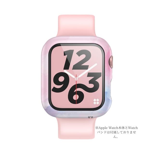 Apple Watch カバー SE Series6 Series5 Series4  44mm デザイン ハード ケース  PRISMART case  アップルウォッチ CaseStudi ケーススタディ スマートウォッチ