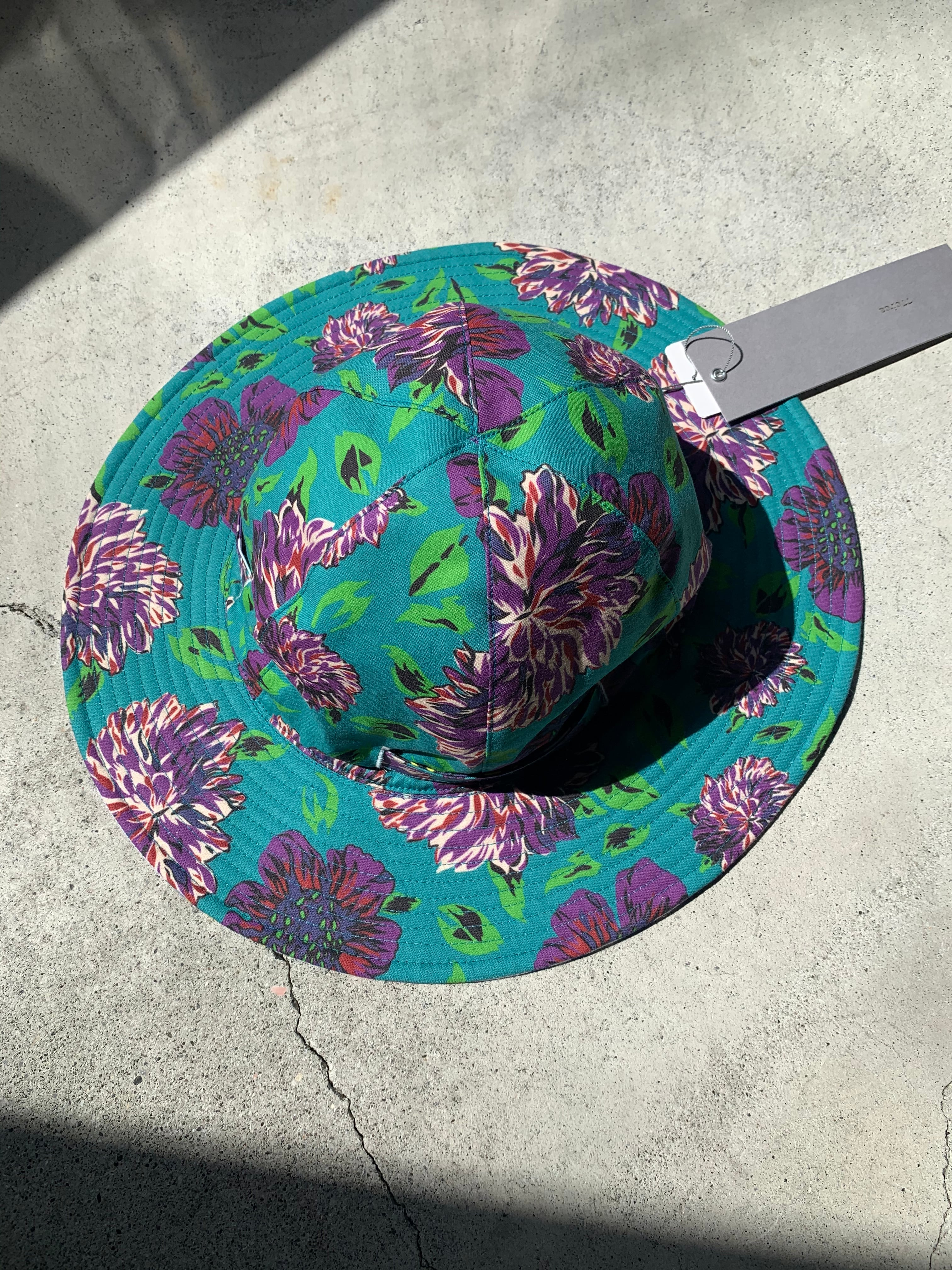 77circa original flower print sun hat