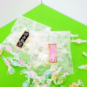 ★大粒金平糖★個包装8個入り プチドット小袋(6種類の味が入っています)~Big size Konpeito pieces~