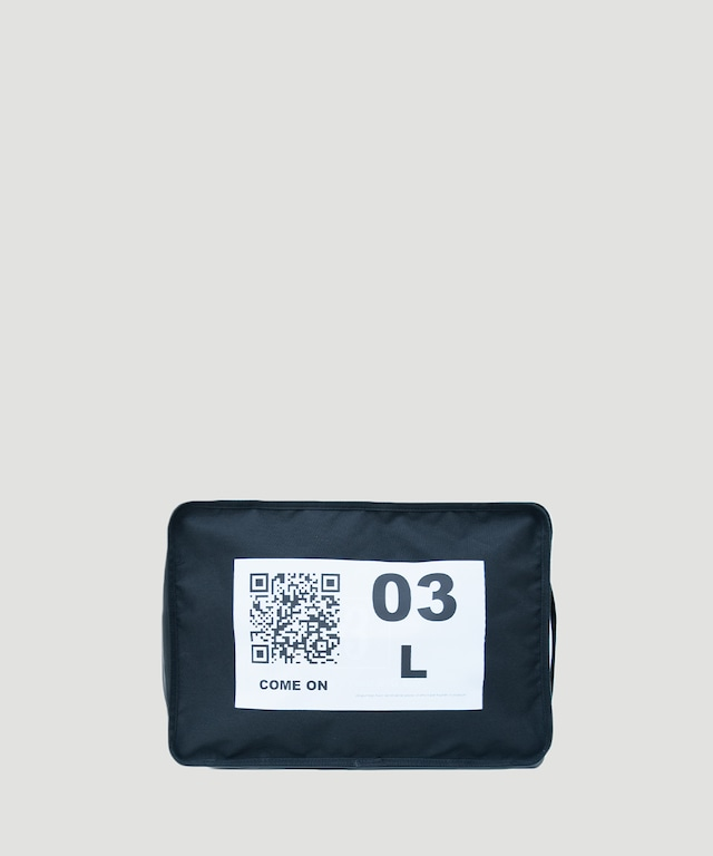 LORINZA No.3 Travel Pouch(QR) LO-STN-PC03 Black