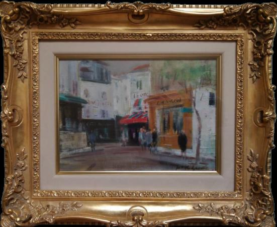 ルピック街 パリ モンマルトル