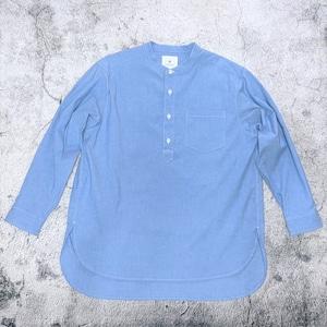 "<OSOCU> Dungaree long sleeve PO shirt ""ソメルマエ"""