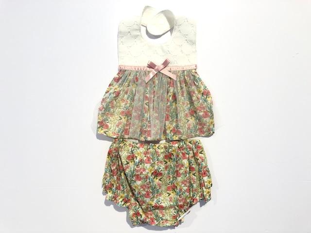 Leapepe - Apron & Bloomer set / レアぺぺ - エプロン&ブルマ・セット [ GARDEN 花柄  / GIRL ]