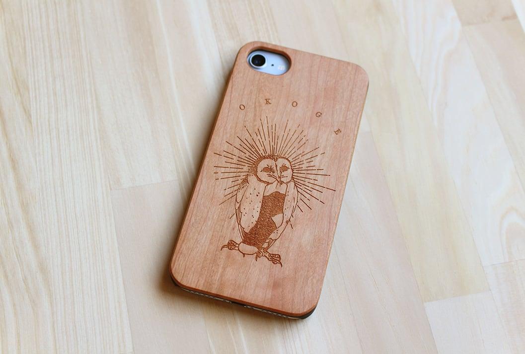 木製iPhoneケース『OKOGE』