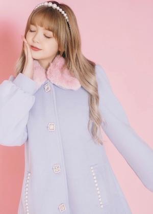 【ManonMimie】Jewel A-Line Coat