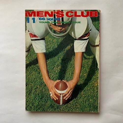 MEN'S CLUB メンズクラブ 59号  /  婦人画報社  /  1966年