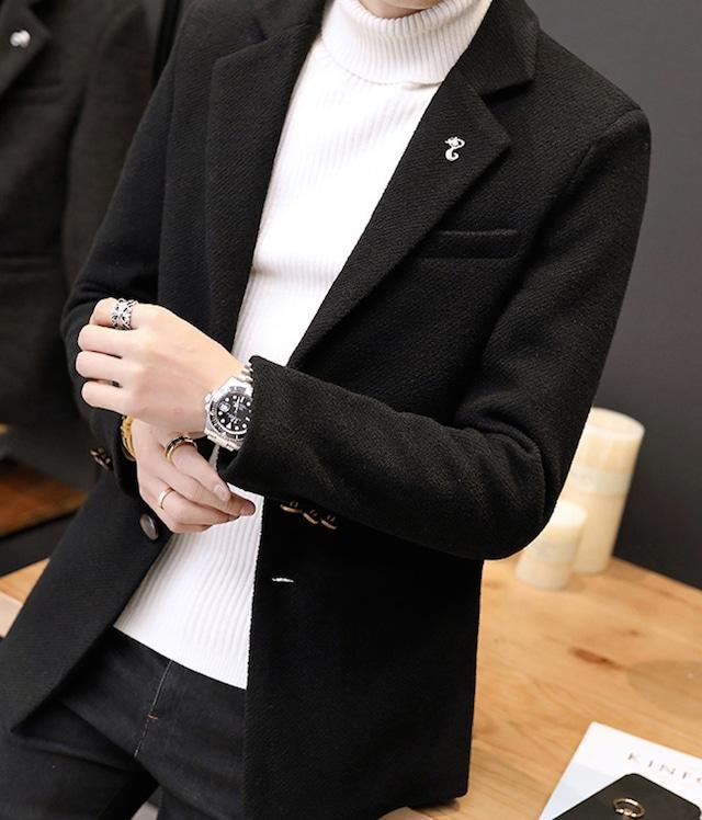 テーラードジャケット メンズ スーツ ブレザー 紳士 ビジネス トップス フォーtps-1557