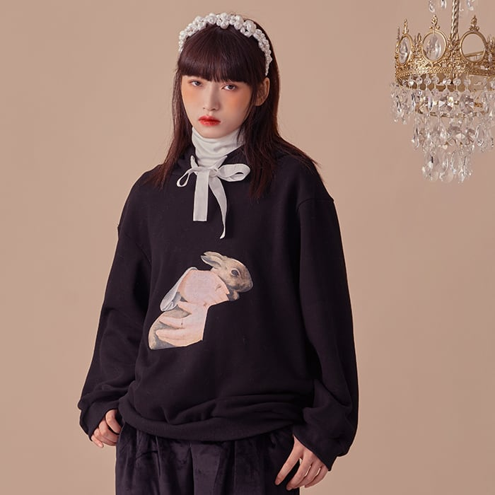 Rabbit Maiden hoodie