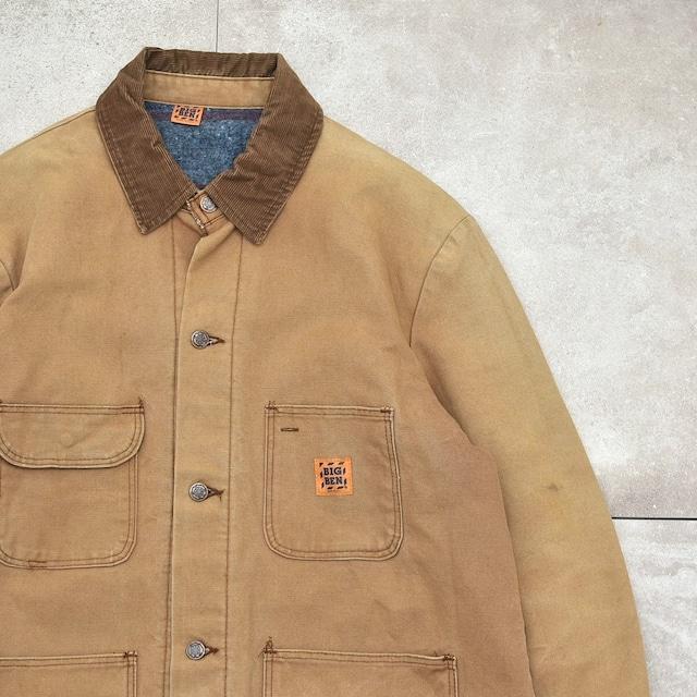 90's BIG BEN blanket lined duck jacket