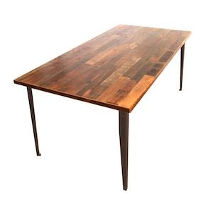"""受注生産品  Table """"Plain"""" 900 x 1800 w/ simple top"""