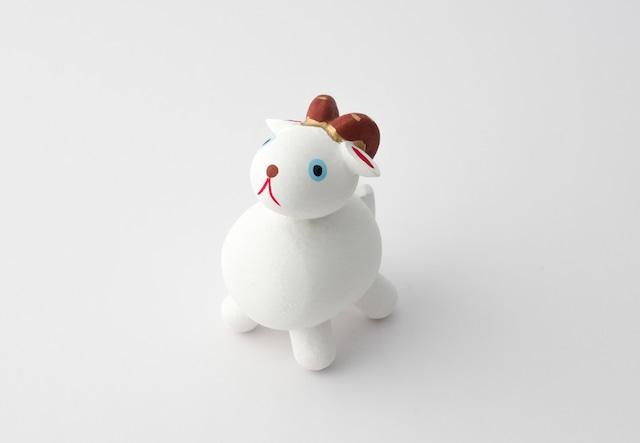 木彫十二支 未(ひつじ)【小人形】
