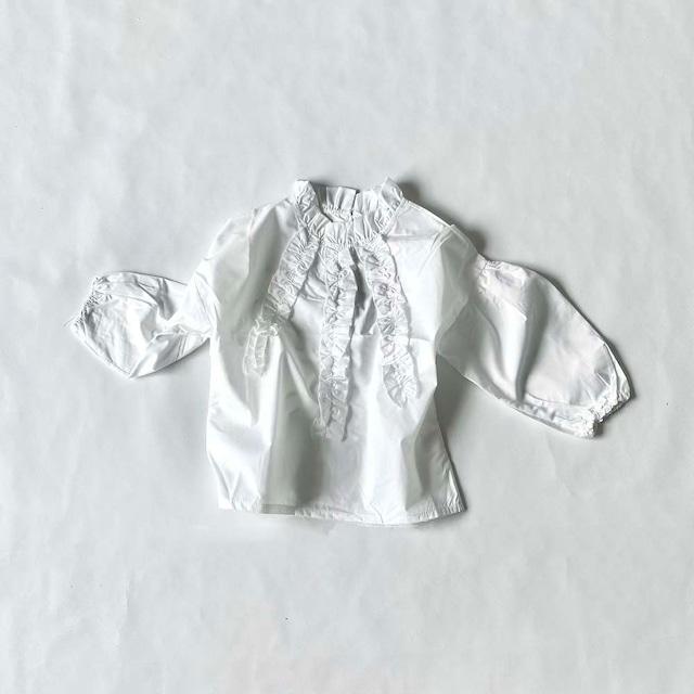 フリルデザインシャツ【T133】