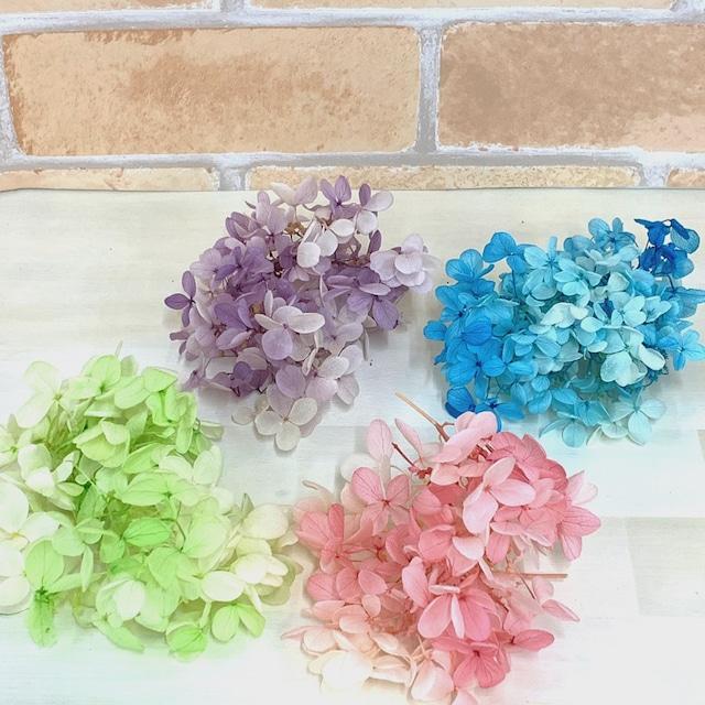 【花材・アジサイ】ソフトピラミッドアジサイ・スフレ プリザーブドフラワー