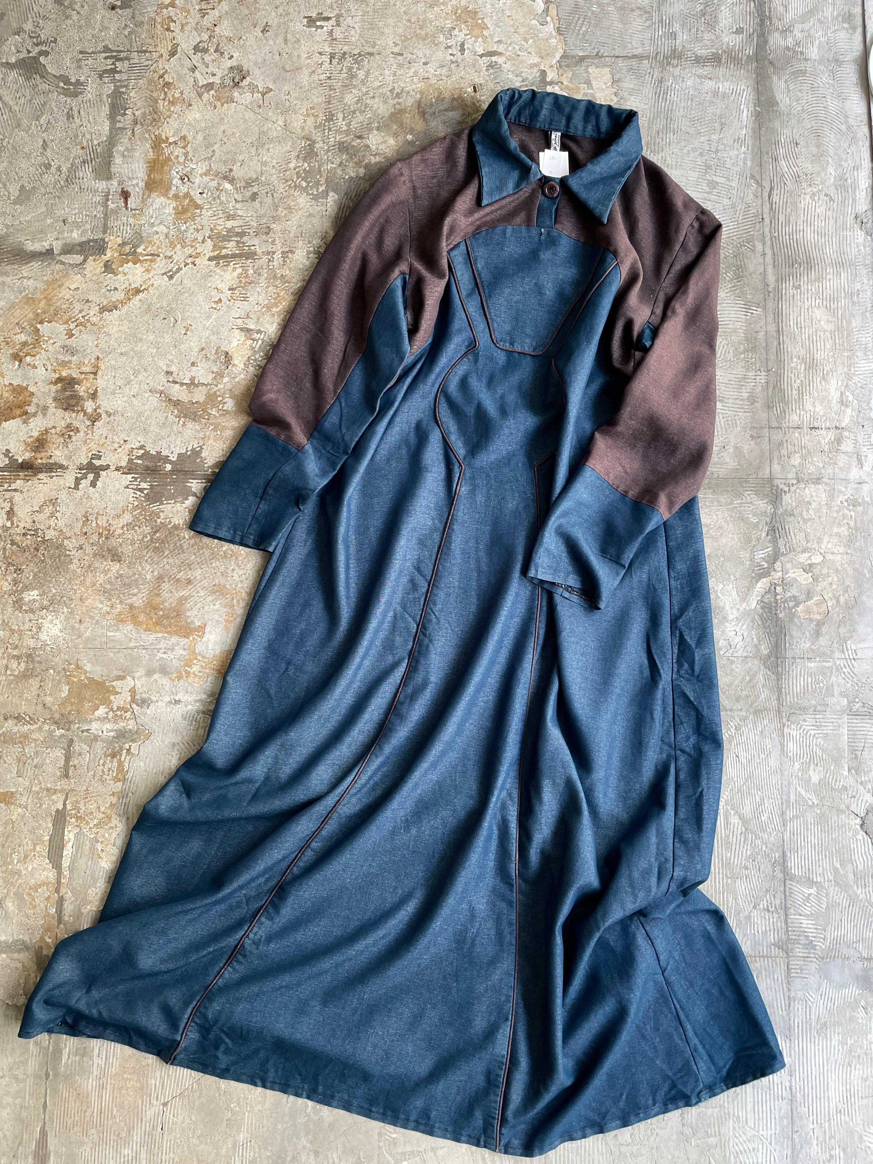 """""""ALBAKRY"""" vintage maxi dress"""