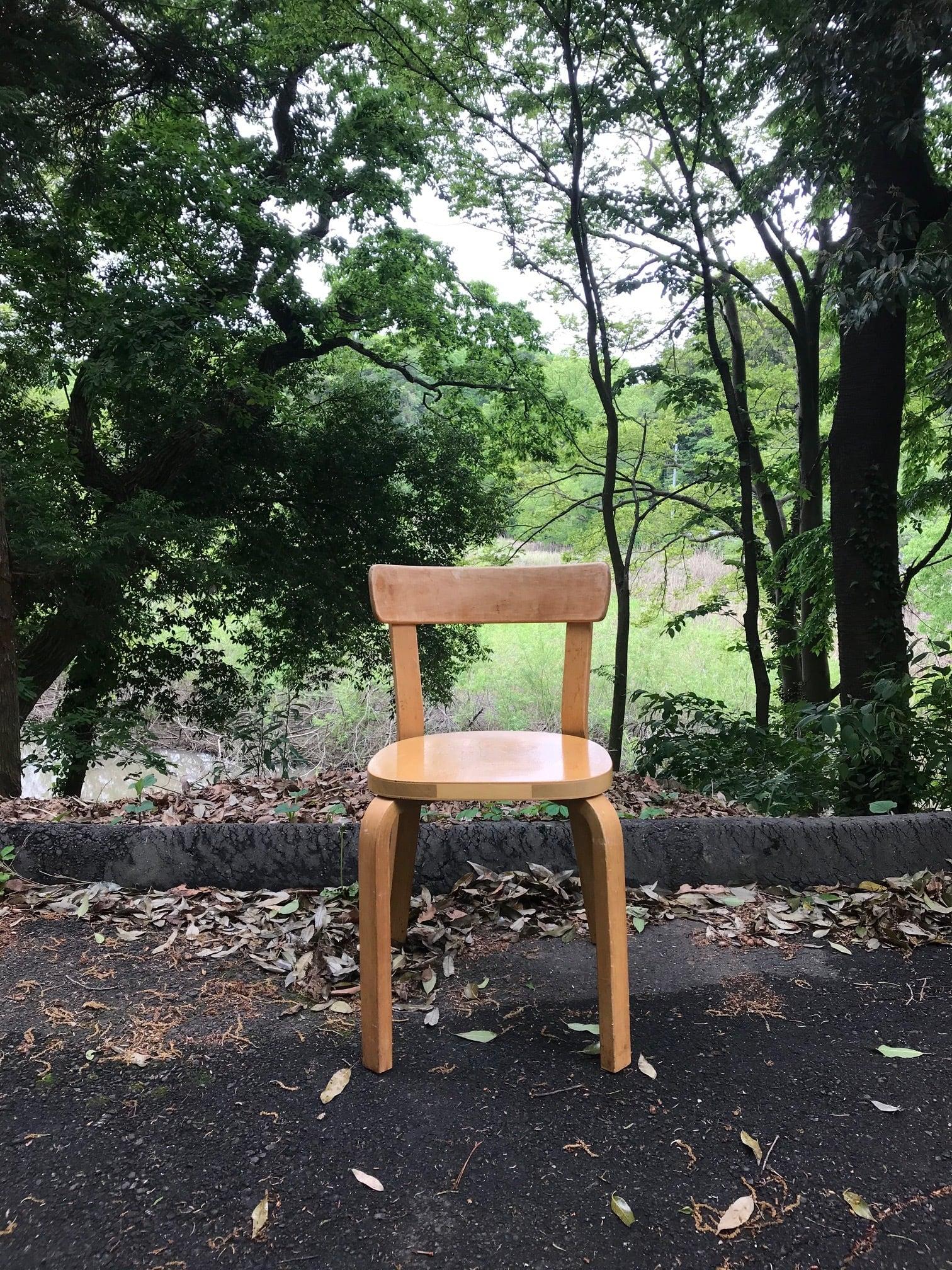 1930年代 北欧ビンテージ家具 アルヴァ アアルト チェア69 椅子