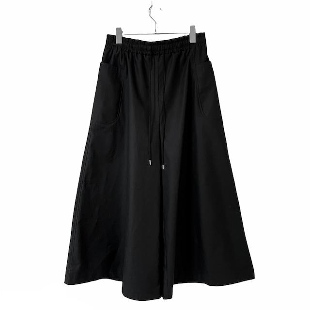 【オーダー受付】Wide-Pants (black)