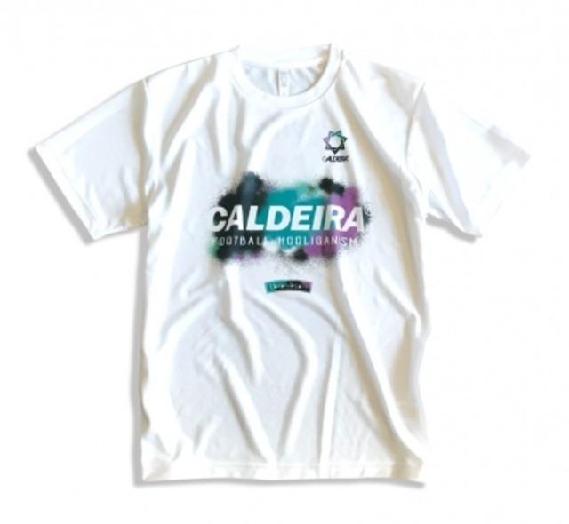"""CALDEIRA PRA SHIRT """"SCATTER"""" WHITE (9009)"""
