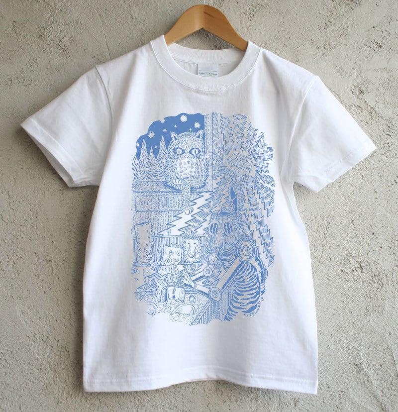 のら珈琲×俵谷哲典 Tシャツ《黒》&《青》