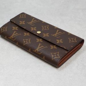 LOUIS VUITTON ルイ・ヴィトン モノグラム ポルトフォイユ サラ 2つ折り長財布