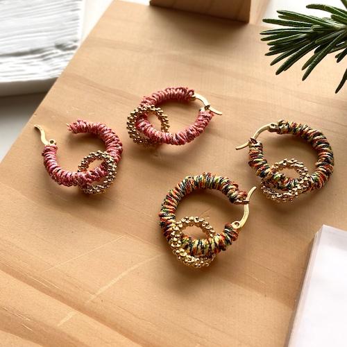 LITHE hoop earrings