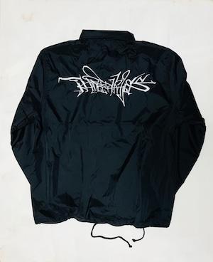 Nylon coach jacket -graffiti-
