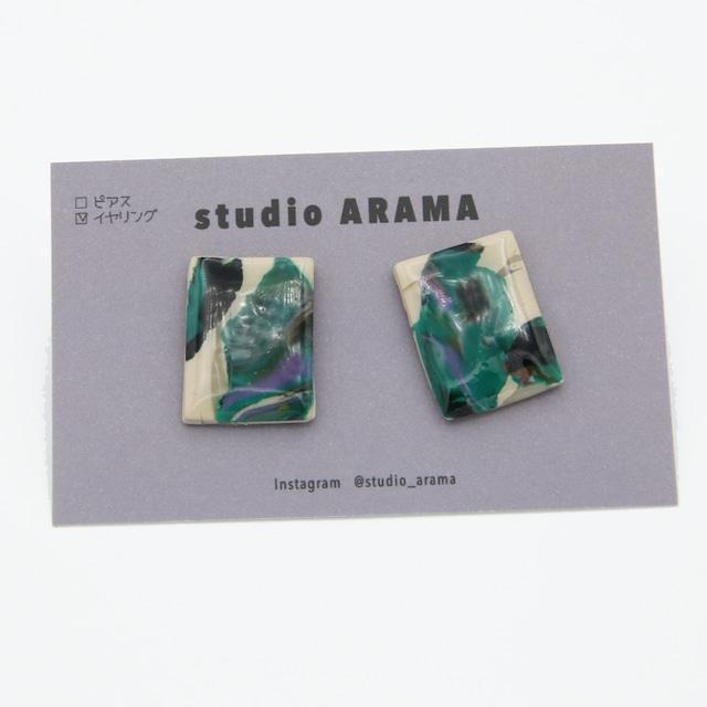studioARAMA/スタジオアラマ/アートミニイヤリング/AM-2-56