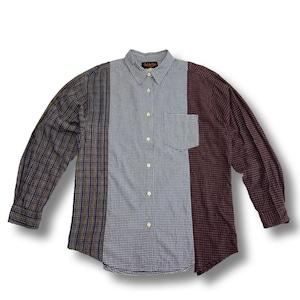 【remade】Docking Flannel Shirt
