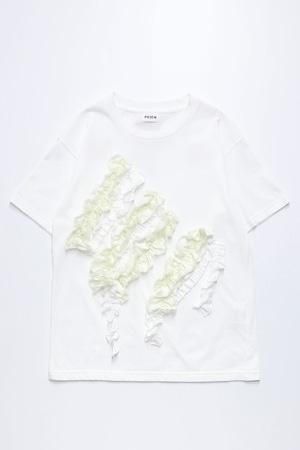 21SS Flower Ornament T-shirt