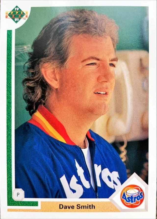 MLBカード 91UPPERDECK Dave Smith #513 ASTROS