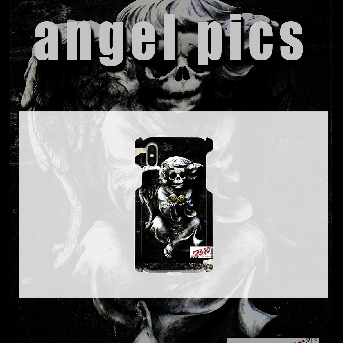 angel pics case コートタイプ (ツヤあり)