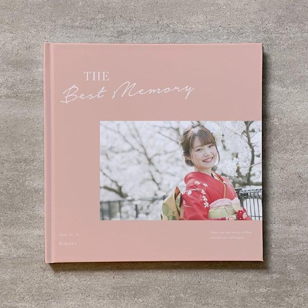 Simple pink-成人式_A4スクエア_10ページ/20カット_クラシックアルバム